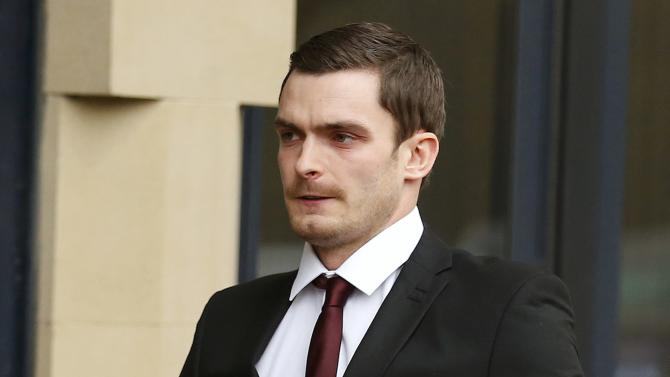 Former Sunderland soccer player Adam Johnson arrives at  Bradford Crown Court in Bradford