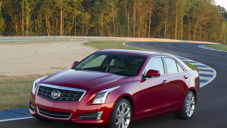 New Cadillac ATS chases BMW 3-Series