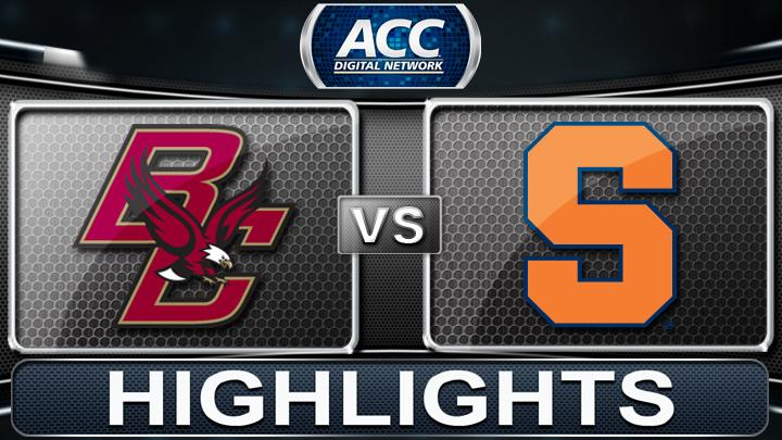 Boston College vs Syracuse | 2013 ACC Football Highlights