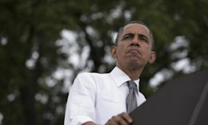 """Obama speaks at a campaign event in Columbus, Ohio, on Sept. 17: The president should be """"no drama Obama"""" when he's onstage in Denver with Mitt Romney tomorrow night — though he shouldn't play it too safe."""