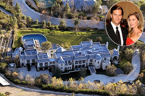 Gisele Bundchen, Tom Brady&#39;s $20 Million Mansion Is Complete: Pictures
