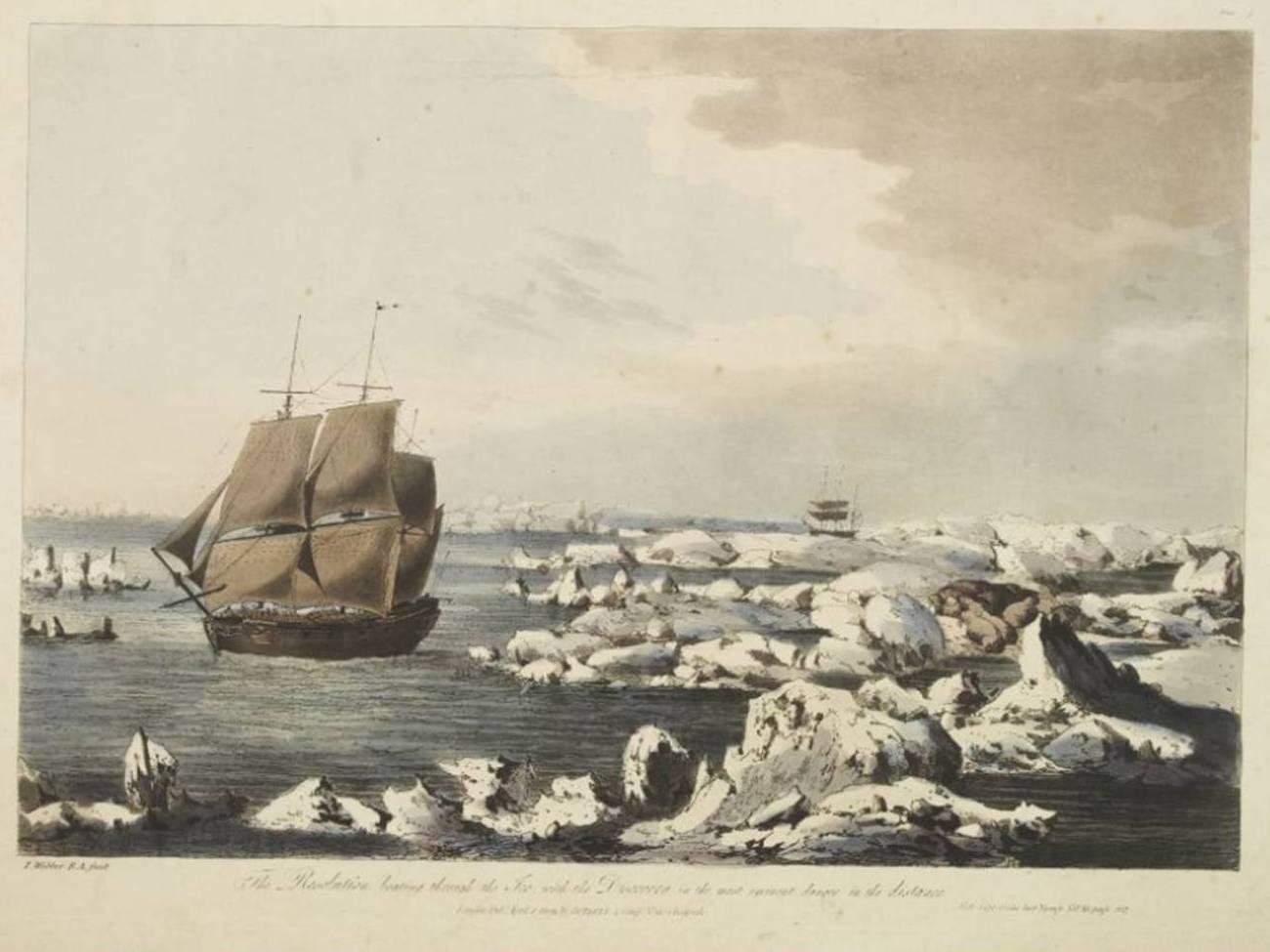 Captain Cook's Notes Describe Now-Vanishing Arctic Ice Wall