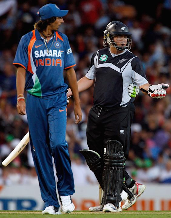 New Zealand v India - 5th ODI