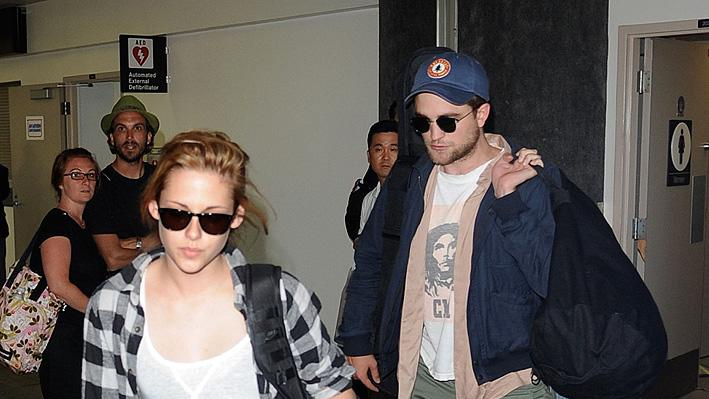 K StewartR Pattinson LAX
