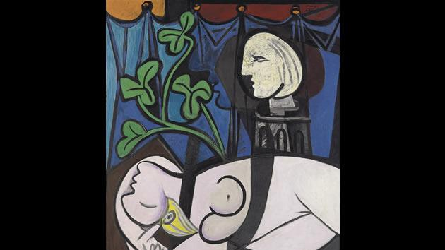 """""""Nude Green Leaves, and Bust"""" by Pablo Picasso, sold for $106.5 million in 2010."""