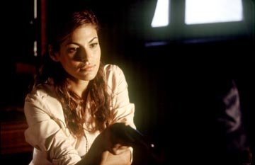 Eva Mendes in Columbia's Once Upon a Time in Mexico