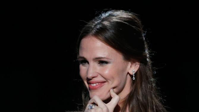 Jennifer Garner onstage at the 24th Annual Producers Guild (PGA) Awards at the Beverly Hilton Hotel on Saturday Jan. 26, 2013, in Beverly Hills, Calif. (Photo by Todd Williamson/Invision for The Producers Guild/AP Images)