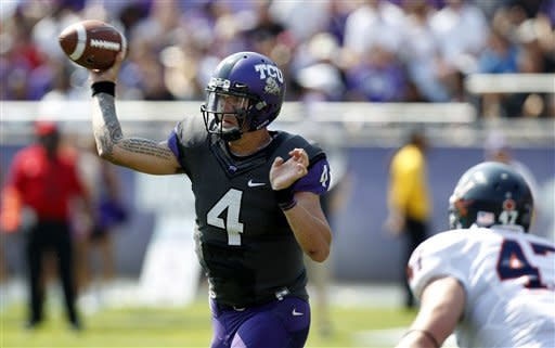 No. 17 TCU wins 11th in row, 27-7 over Virginia