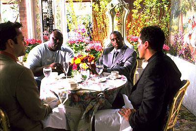 Vince Vaughn , Faizon Love , Puff Daddy and Jon Favreau in Artisan's Made