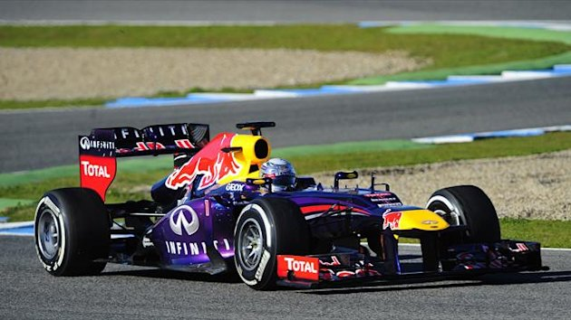 Red bull&#39;s German driver Sebastian Vettel (AFP)