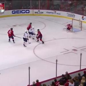 Braden Holtby Save on Drew Stafford (04:59/1st)