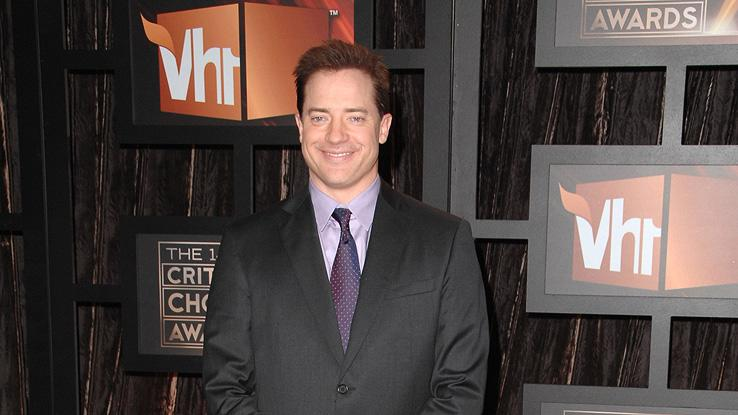14th Annual Critics' Choice Awards 2009 Brendan Fraser
