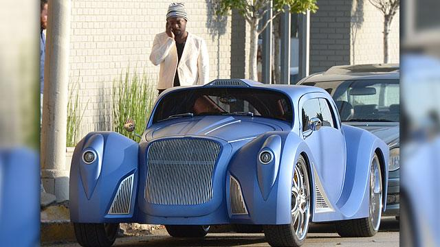 Check Out Will.i.am's $900K Car!