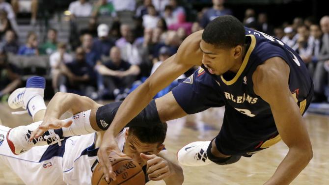 Pelicans beat Mavericks 94-92 in preseason
