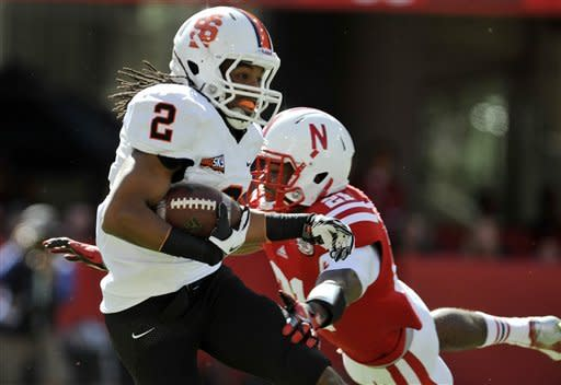 No. 25 Nebraska rolls to 73-7 win over Idaho St