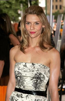Claire Danes at the New York premiere of Focus Features' Evening