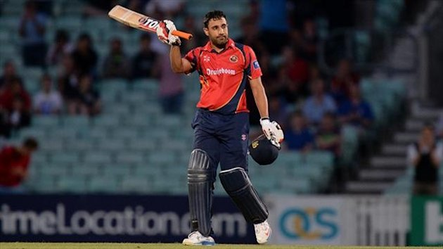 Ravi Bopara scored an unbeaten 115 from 94 balls
