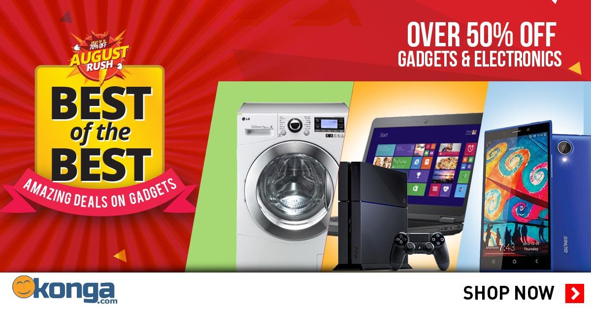 Over 50% Off Gadget & Electronics