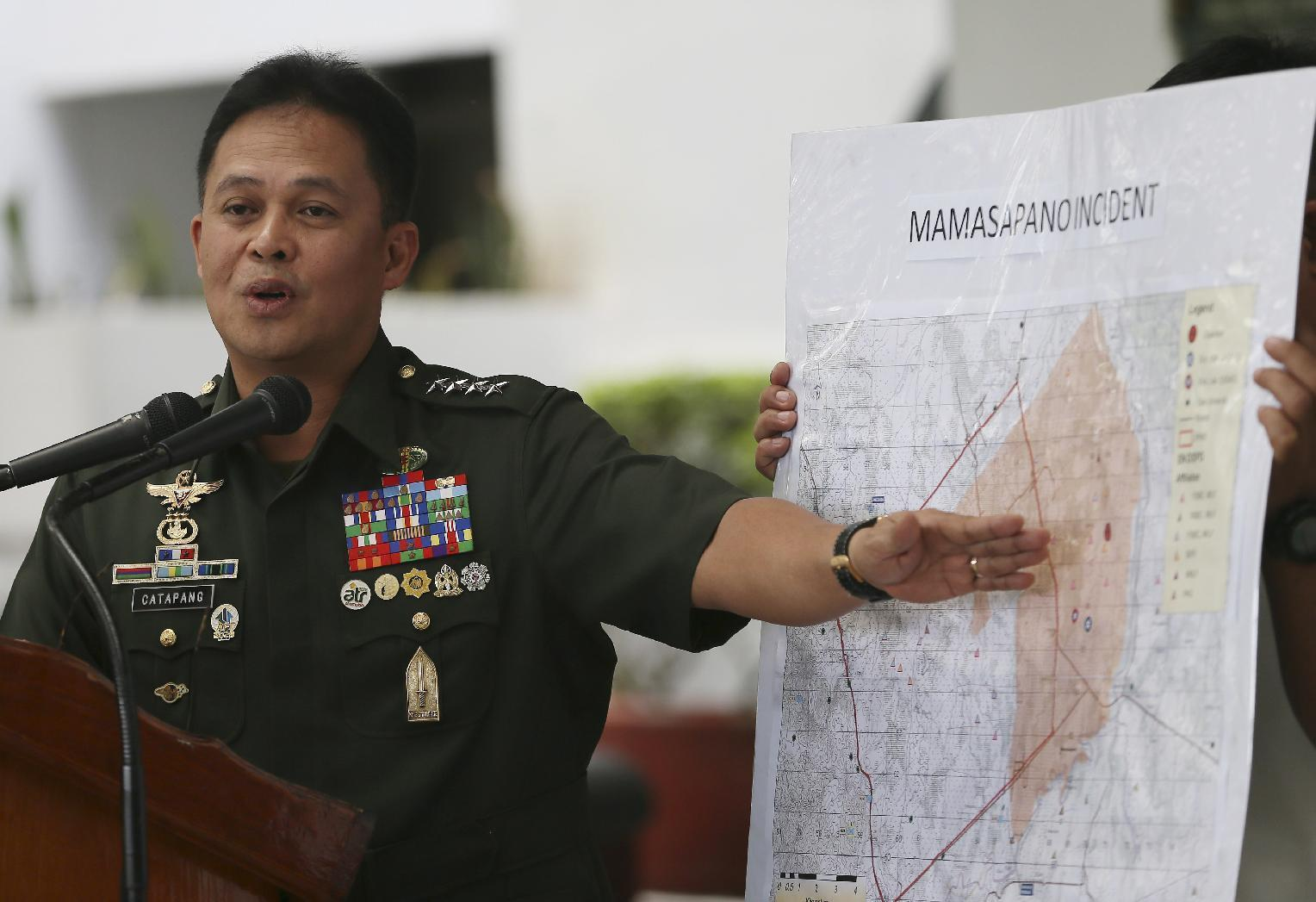 Philippine troops end offensive they say killed 139 rebels