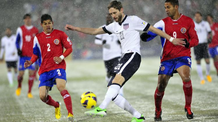Soccer: World Cup Qualifier-Costa Rica at USA