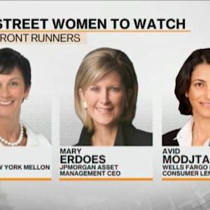 Who'll Be the First Female CEO on Wall Street?