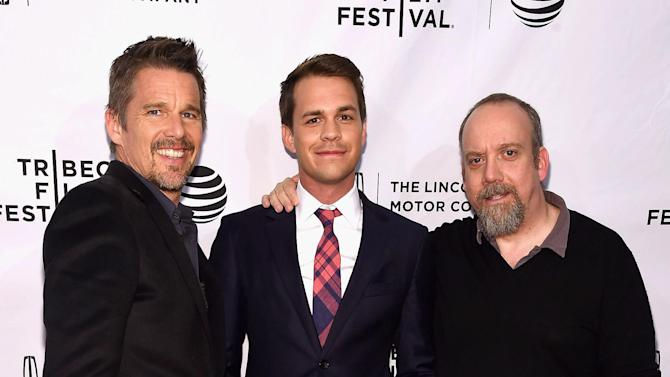 Ethan Hawke and Paul Giamatti on Baseball Movies and Not Screwing Up Your Kids