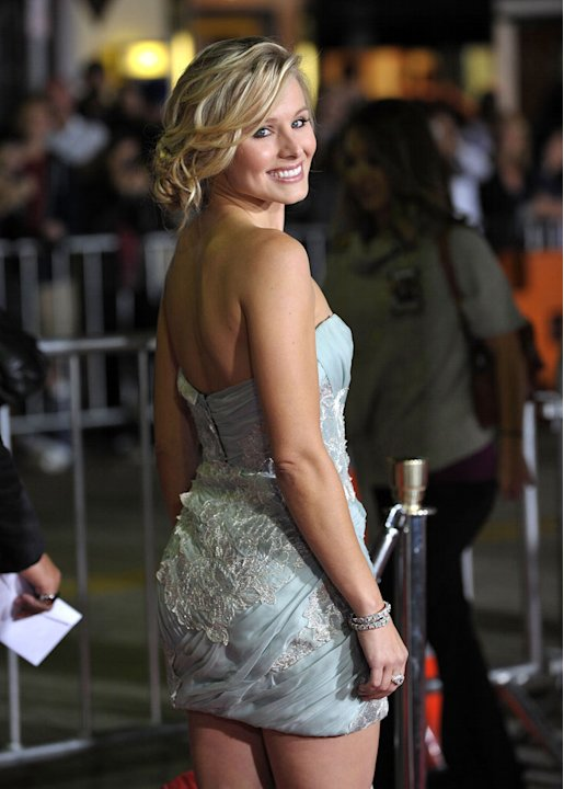 Couples Retreat LA Premiere 2009 Kristen Bell