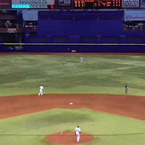 Kiermaier's second terrific grab