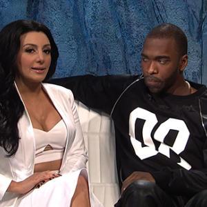Kim Kardashian's Run-In With 'SNL' Impersonator