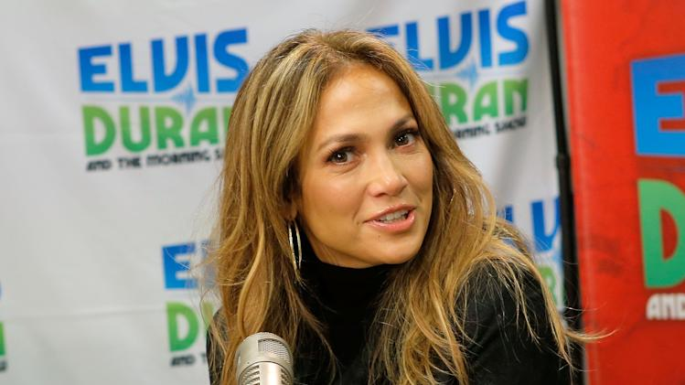 Jennifer Lopez Visits Elvis Duran Z100 Morning Show