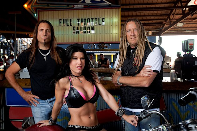 The cast of &quot;Full Throttle Saloon.&quot; 