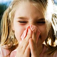 Child Sneezing