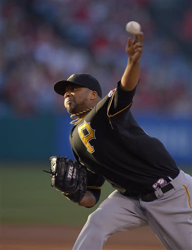 Liriano, Pirates beat Angels 6-1