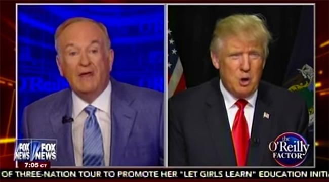 Bill O'Reilly Shuts Down Donald Trump's Attempt To Lump Syrian Refugees Into ISIS