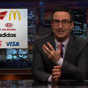 John Oliver Begs Budweiser, McDonald's and Adidas to Help Oust FIFA President