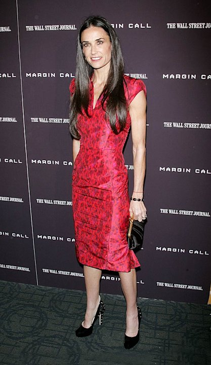 Demi Moore Margin Call Premiere
