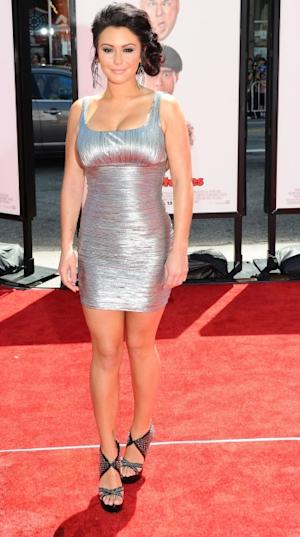 Jenni 'JWoww' Farley attends the Los Angeles premiere of 'The Three Stooges' in Hollywood, Calif. on April 7, 2012  -- Getty Images
