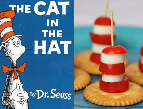 "Tomato and Cheese ""Cat in the Hat"" Hats"