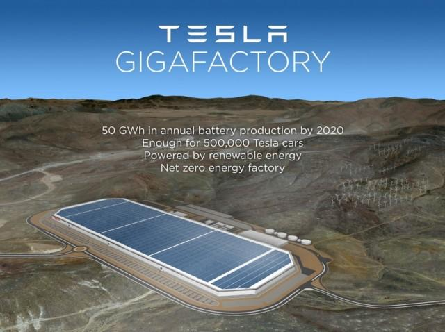 Tesla urges Japanese Battery Suppliers To Take Gigafactory Risk