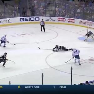 David Booth Goal on Ben Bishop (06:48/2nd)