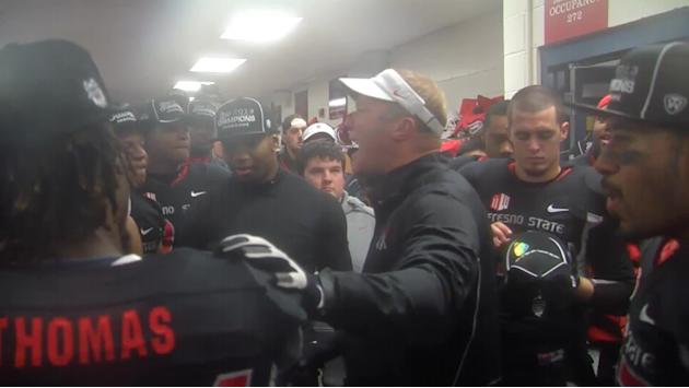 MWN EXCLUSIVE: Bulldogs Locker Room Celebration