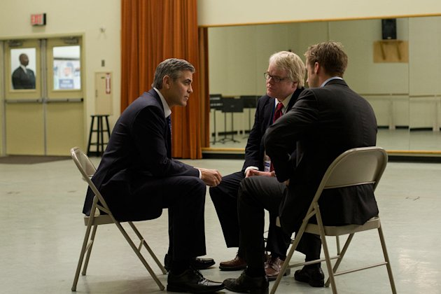 The ides of March 2011 Columbia Pictures George Clooney Ryan Gosling Philip Seymour Hoffman