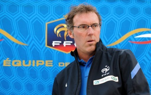 France's Head Coach Laurent …