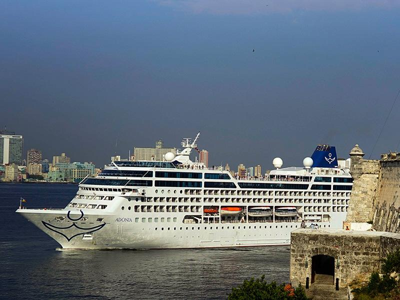 The First U.S. Cruise Ship in 40 Years Reaches Cuba