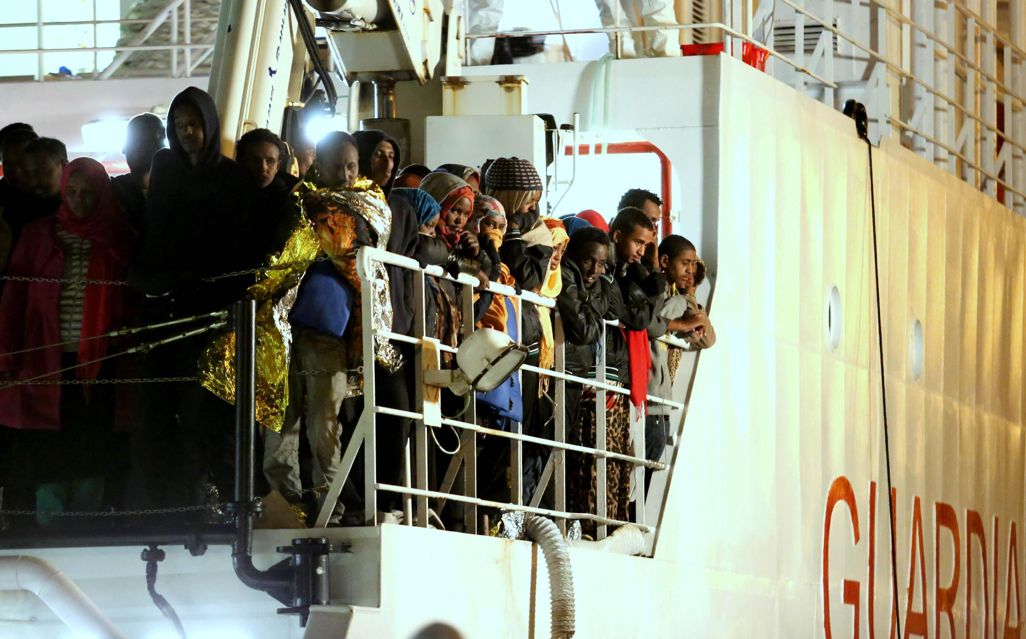 Migrants feared dead in a new Mediterranean Sea shipwreck