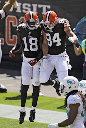 Browns offense not same without WR Josh Gordon
