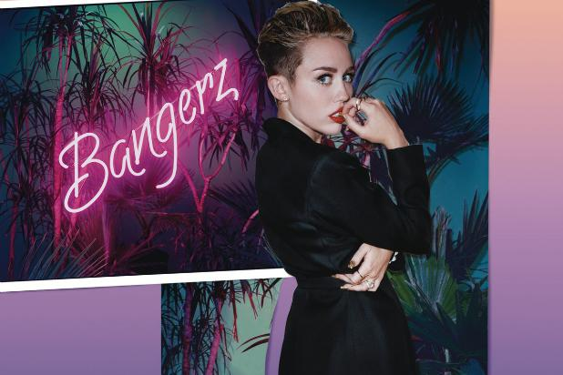 Miley Cyrus' 'Bangerz' Poised for No. 1 Debut With 250,000 Copies Sold