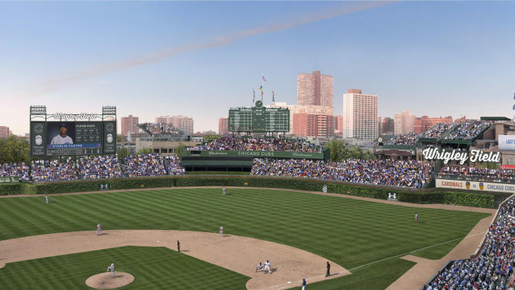 Cubs, city of Chicago agree on Wrigley Jumbotron