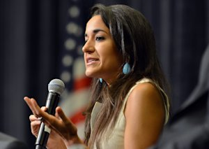 New Hampshire state Rep. Marilinda Garcia speaks during …