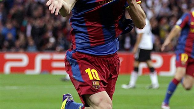 Lionel Messi scored 91 goals in 2012